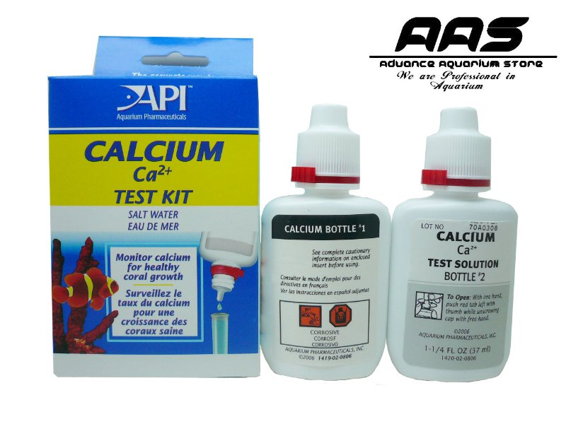 testing kit for calcium in a reef tank