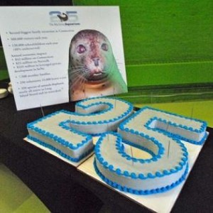 Birthday pic Maritime Aquarium by Jordan Osterhout