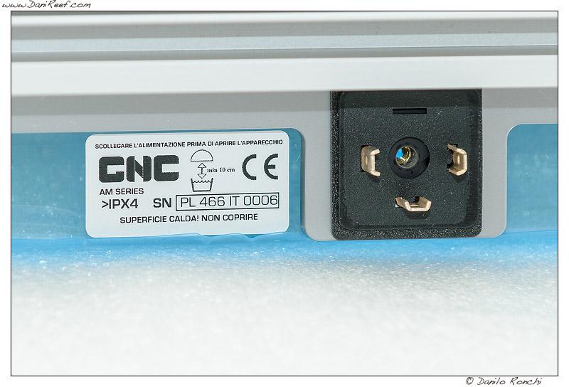 Sicce AM-Serie 466 Led Fixture power plug
