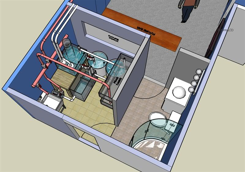 Designing a fish room... - Reefs.com on spear house plans, ice house on wheels plans, real hobbit house plans, ice fishing shack building plans, ice fishing house plans, portable ice house plans, fish house building supplies, hunting lodge building plans, fish cleaning building plans, ice house frame plans, ice house design plans, homemade ice house plans,