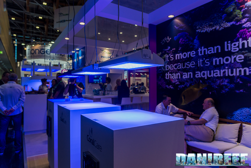 interzoo 2018 the new philips coralcare ceiling lights reefs com