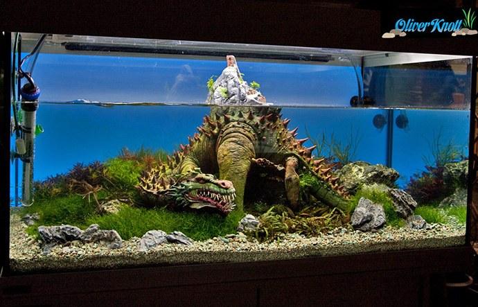 Dragon Hunter Scape Planted Aquarium